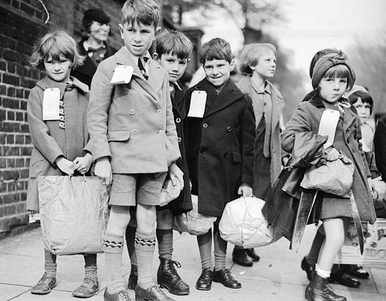Image result for ww2 evacuee