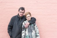 Martin (Waxy) Walker and his daughter