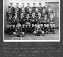 Under 14 XV - 1961 - 1962