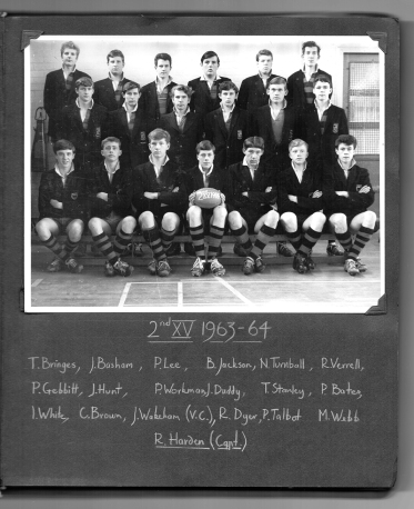 2nd Rugby XV 1963-1964