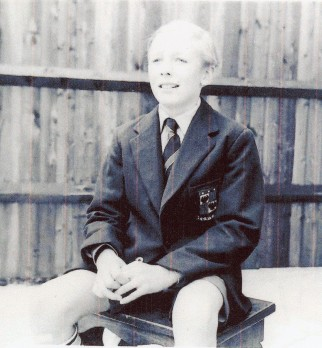 Mike Schmidt - September 1960 - In the back garden of his house in Bromley.