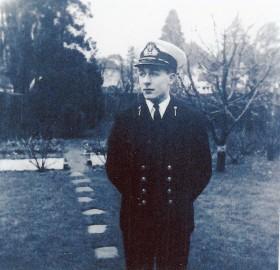 Mike Schmidt - September 1967 As a Royal Navy Cadet at Dartmouth.
