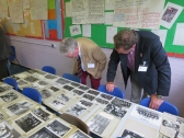 Richard Beer (1959) and Alan Gaunt (1960) enjoying the photos from the Archive