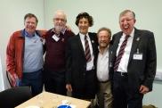 Graham Mitchell, Hugh Arrmstrong, Adrian Appley, Greg Smith, Richard Sales