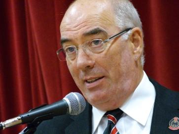 reunion organiser Mick Abbott