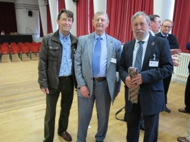 Chris Green (1R - 1959), Colin Brook, Mike Storey (1N 1959)