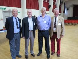 L-R - Paul Bates, Peter Copping, Alan Medley, Richard Beer - Class 1N 1959
