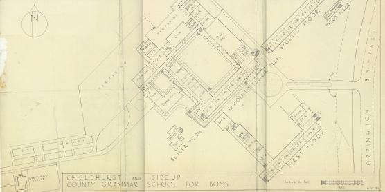 School Plan - 1946