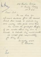Parent's Letter