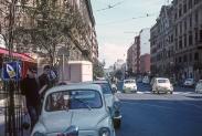 Roger Harden and Peter Bennett in Rome