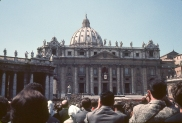 Pope's address in St. Peter's Square Rome