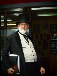 David Verrall in Victorian Costume
