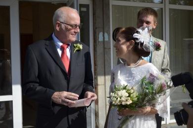 John Joyce & Tanya marry in the Ukraine - September 2012