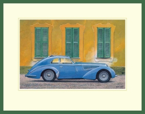 Ken LLoyd - Alfa Illustration in frame