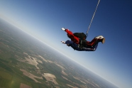 Phil Robson Sky Dives at 60