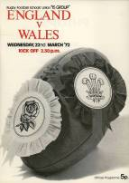On 22nd March 1972 the Band performed at the Rugby Football Schools' Union '15 Group' England Versus Wales match at Twickenham in which Peter Moss from Cray Valley was playing in the position of Flanker.