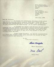 "In July 1971 a congratulatory letter by Bruce Cherrington and David Stent (old boys) was sent to Peter Woodward following their attending the most recent and in their opinion, ""the most professional and entertaining of the Band's performances""."