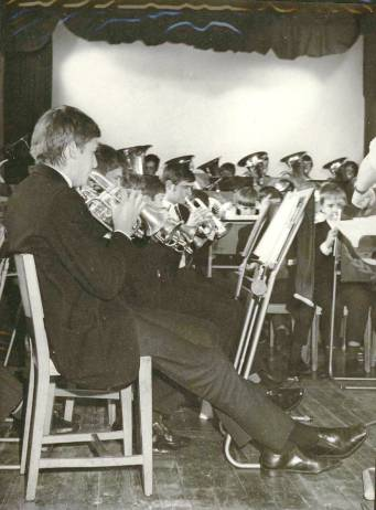 1969 – This is another of the more detailed shots of the combined Cray Valley and Ringmer Band.