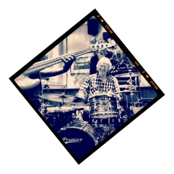 DAD ON THE DRUMS