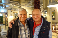 A 'mini reunion' - John Willis and Colin Cadle meet up in Sevenoaks