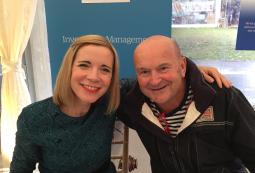 Lucy Worsley at the Budleigh Salterton Literary Festival 22 September 2018