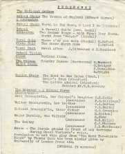 Christmas Concert 1959 Page 2