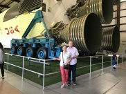 Barry and Brenda Jackson at The Kennedy Space Centre - 2018